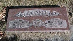Emma Florence <I>Payne</I> Fausett