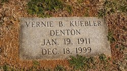 Vernie Burke <I>Kuebler</I> Denton