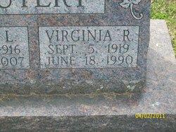 Virginia R <I>Fisher</I> Autery