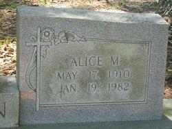 Alice M <I>Gargano</I> Newton
