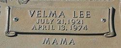 Velma Lee <I>Slagle</I> Crow