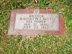 Jeannette E <I>Power</I> Betts