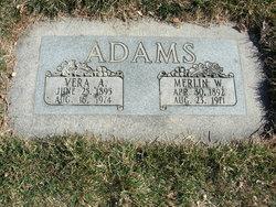 Merlin Wright Adams