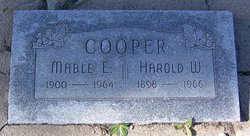 Mable Elsie <I>Howerton</I> Cooper