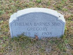 Thelma Albern <I>Barnes</I> Sims Gregory