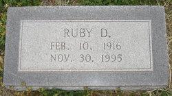 Ruby Don <I>Webb</I> Griffin