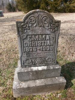 Emma <I>Grant</I> Christian