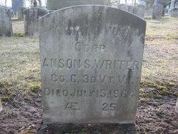 CPL Anson S. Writer