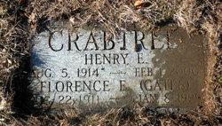 Florence E. <I>Gates</I> Crabtree