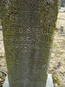 Fred Christoff Stahl