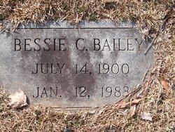 Bessie <I>Carter</I> Bailey