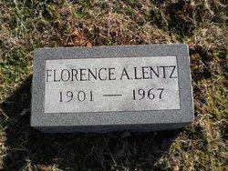 Florence A <I>Wright</I> Lentz