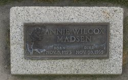 Anna <I>Wilcox</I> Madsen