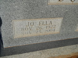 Jo Ella <I>Tucker</I> Duke