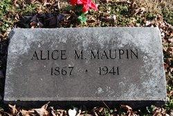Alice <I>Major</I> Maupin