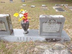 Nora Aline <I>McDuffie</I> Allen
