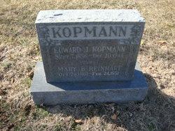 """John Herman """"Edward"""" Kopmann"""