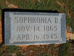 Sophronia Burnette <I>Winkle</I> Aaron