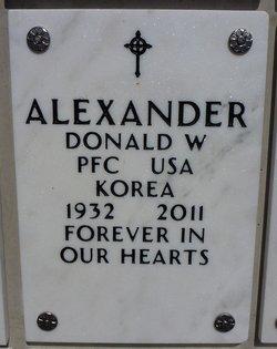 Donald William Alexander