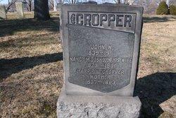 Nancy <I>Goshorn</I> Cropper