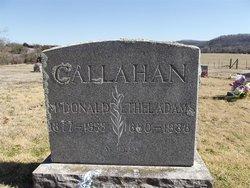 Ethel Agatha <I>Adams</I> Callahan