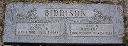 Kathryn Fidelia <I>Dudenhoefer</I> Biddison