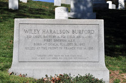 Lieut Wiley Haralson Burford