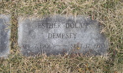 Esther E. <I>Dolan</I> Dempsey
