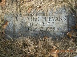 Mildred <I>Hammond</I> Evans