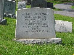 Mildred <I>Lee</I> Francis