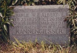 Albert Edward Kannengiesser