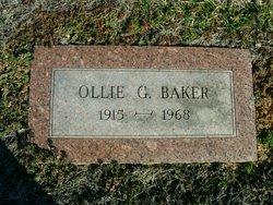 Ollie G. Baker