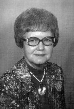 Mrs Alene Elizabeth <I>Spray</I> Briscoe