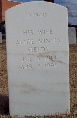 Alice Vinita <I>Lairamore</I> Fields