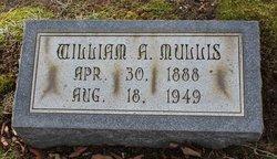"""William Andrew """"Willie"""" Mullis"""