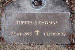 Luetta E. Thomas