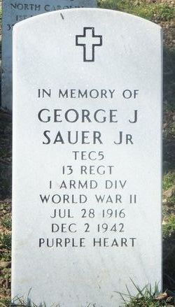 George J Sauer, Jr