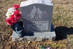Barbara <I>Clemons</I> Elmore