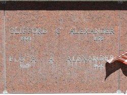 Flora Anna <I>Dittmer</I> Alexander