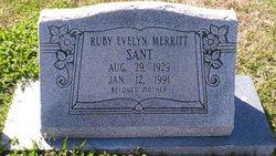 Ruby Evelyn <I>Merritt</I> Sant
