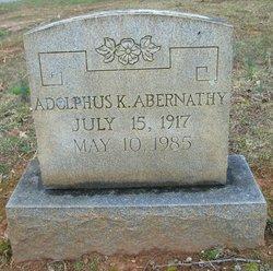 Adolphus Kirby Abernathy