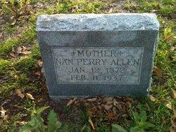 Nan <I>Perry</I> Allen