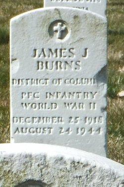 PFC James J Burns