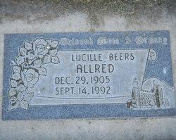 Lucille <I>Beers</I> Allred