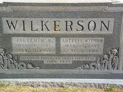 Artelia Adeline <I>Wilson</I> Wilkerson