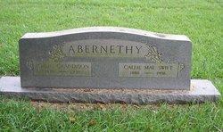 Callie Mae <I>Swift</I> Abernethy