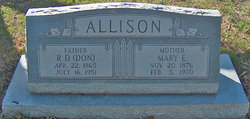 Robert Donald Allison, Sr