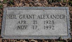Neil Grant Alexander