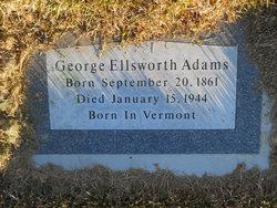 George Ellsworth Adams