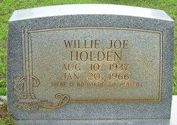 Willie Joe Holden